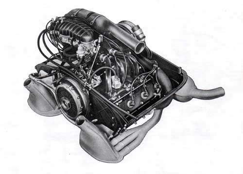 1973.5 CIS engine